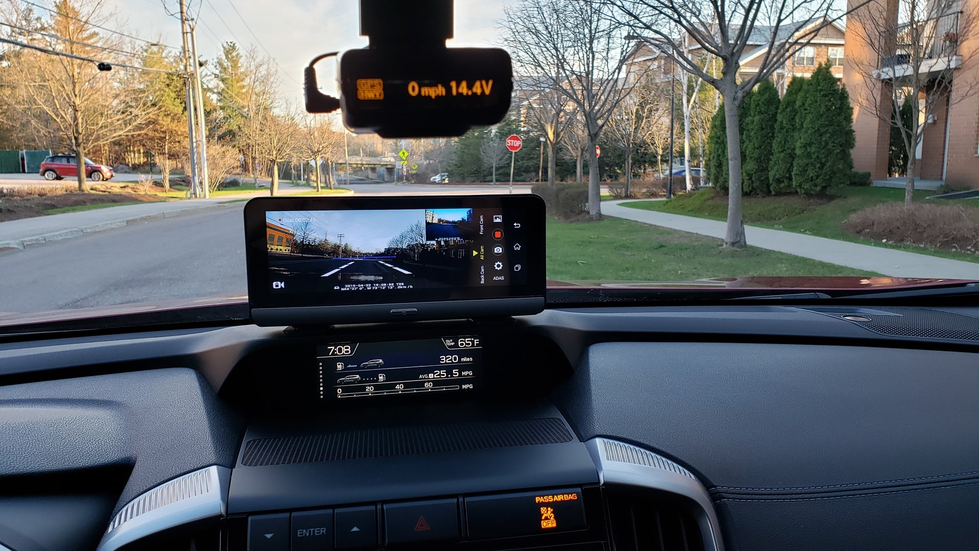 Front Grill Camera and Dash Cam Mod for the Ascent | Subaru